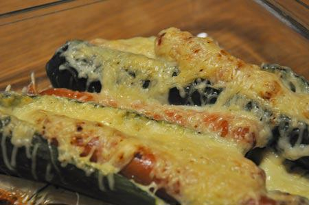 Hot-dog-courgette