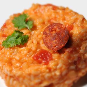 Risotto au chorizo click n 39 cook - Chorizo a griller recette ...