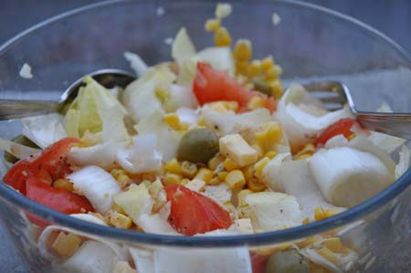 Recette De Salade D Endives Tomates Ma 239 S Click N Cook