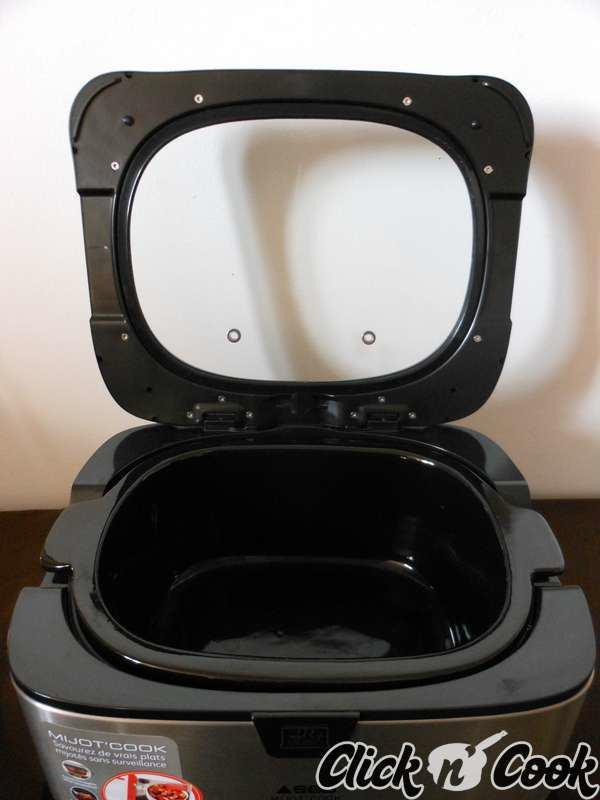 test pour vous le mijot 39 cook de seb click n 39 cook. Black Bedroom Furniture Sets. Home Design Ideas