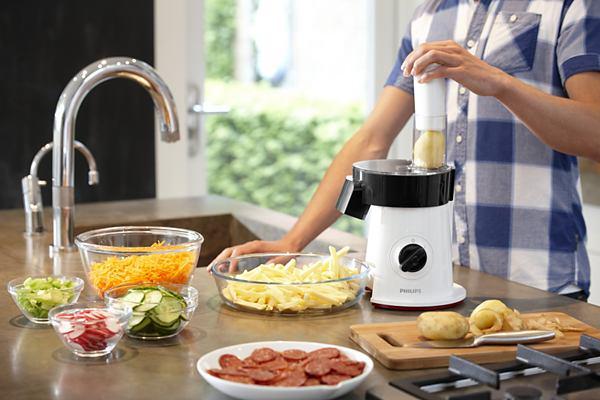 Test pour vous le salad maker de philips hr1387 80 click n 39 cook - Appareil julienne legumes moulinex ...