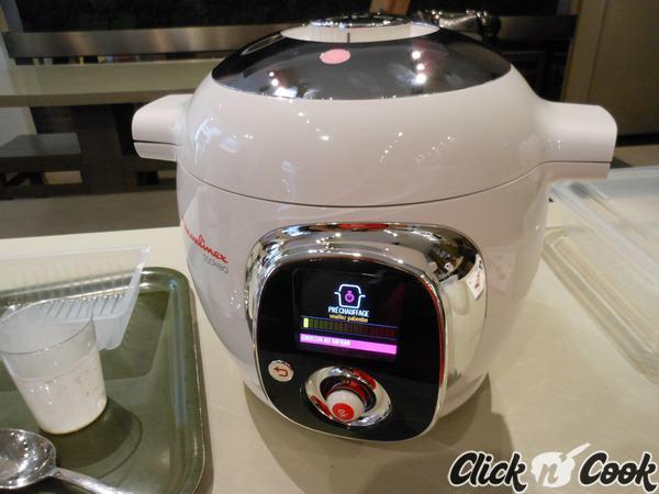 Test pour vous le cook o de moulinex multicuiseur intelligent click n 39 cook - Recette cuiseur vapeur moulinex ...