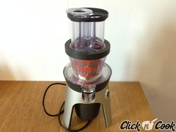 Test pour vous la centrifugeuse infiny press revolution de moulinex click n 39 cook - Moulinex infiny press revolution ...